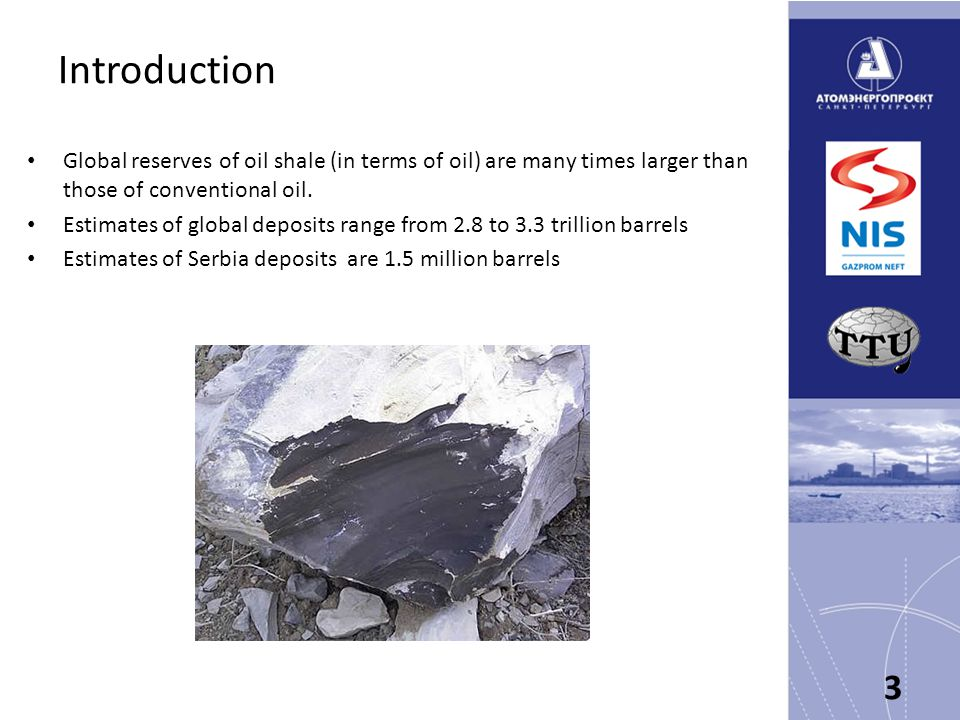 Conclusion 34 The Republic of Serbia, in partnership with NIS, Atomenergoproekt and TTU-Ltd possess all necessary resources, capacities, experience, funds, skills and access to technology required to implement the project of development of oil shale starting from Aleksinac deposit, and expanding the experience to other deposits, and to include oil shale into the energy balance, being friendly to the environment and for the benefit of the Serbian people.