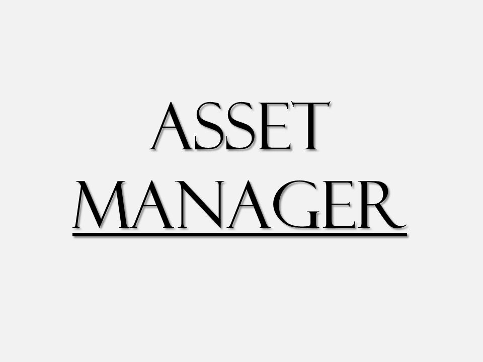 Asset Manager stores and organizes information about UT System vehicles, boilers, and insured equipment Asset Manager