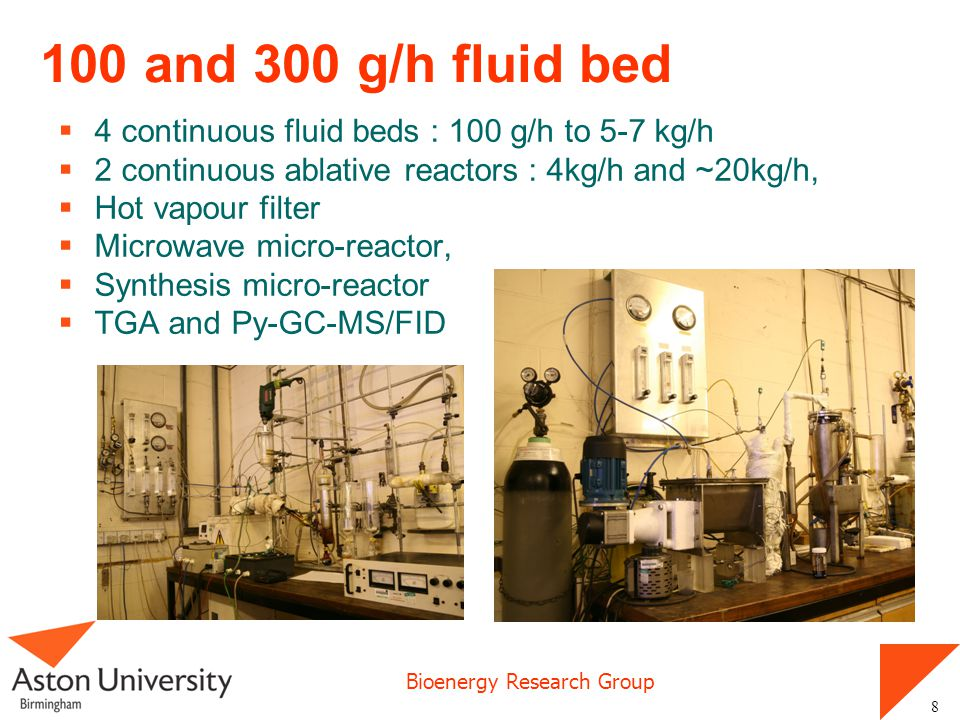 Bioenergy Research Group 19 Process model – 3252 processes