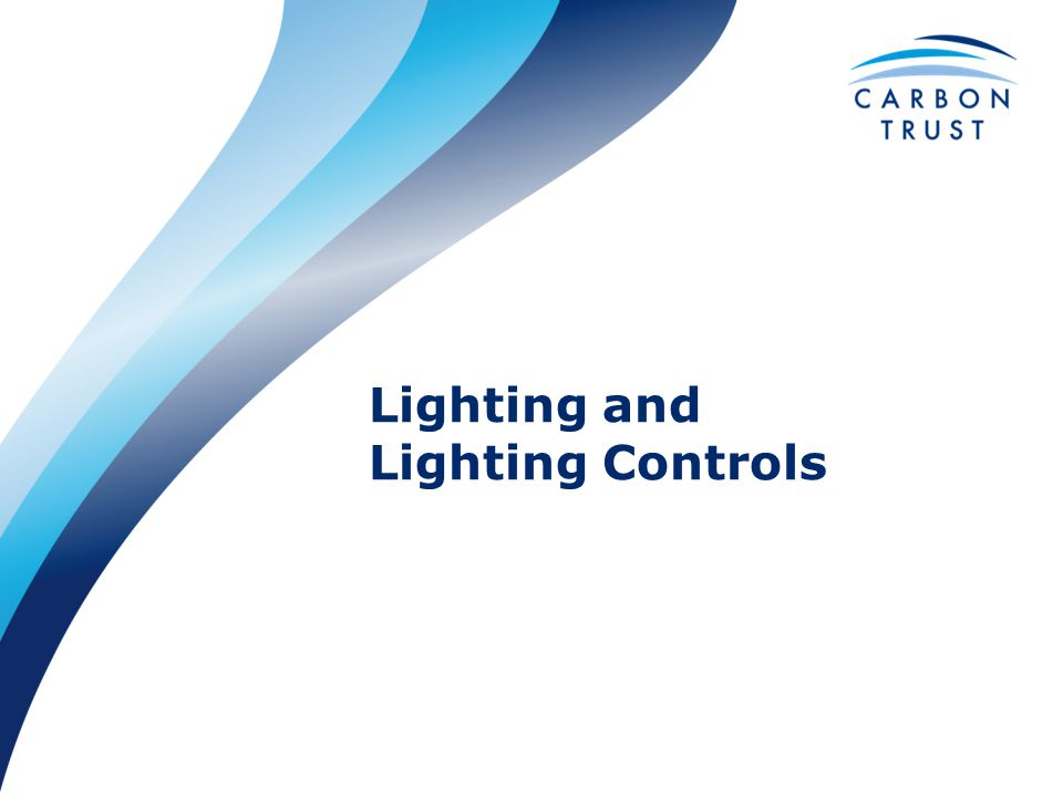 Lighting and Lighting Controls