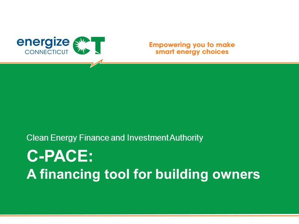 C-PACE & Clean Energy Communities Program