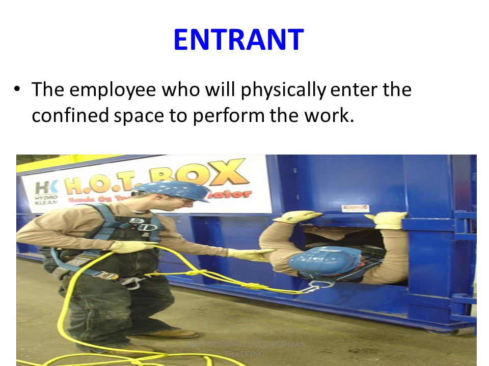 ATTENDANT The employee who remains outside the confined space and monitors the entrant(s); guards the space against unauthorized entry; warns the entrants of any unusual conditions; and summons the rescue personnel if needed.