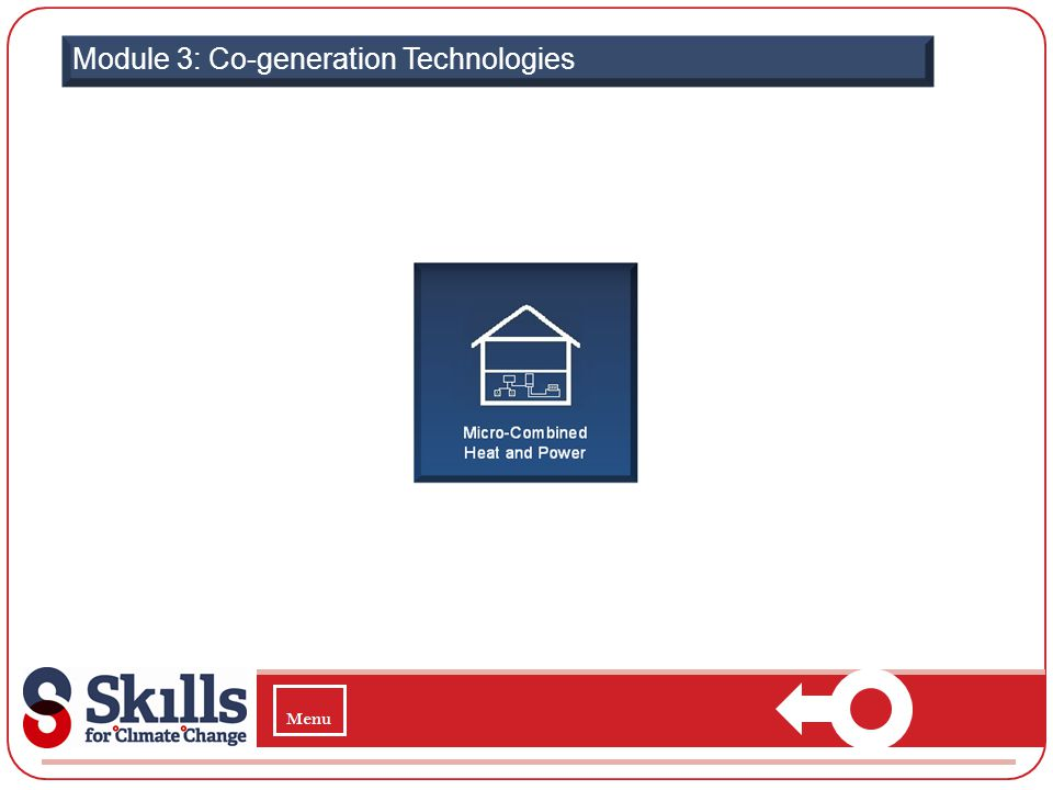 Module 3: Co-generation Technologies