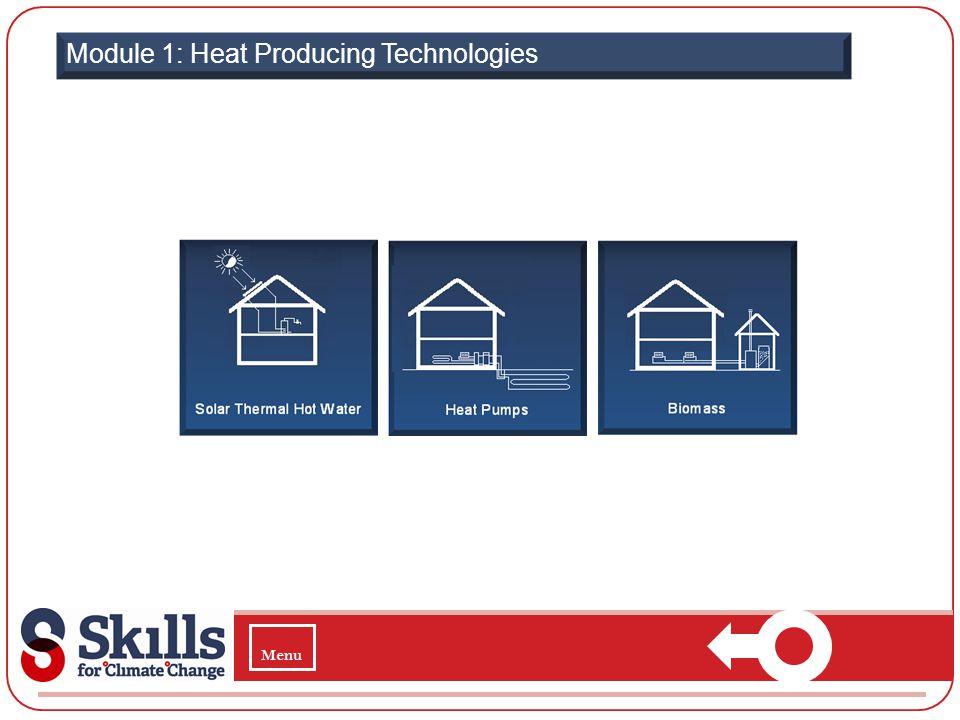 Module 1: Heat Producing Technologies