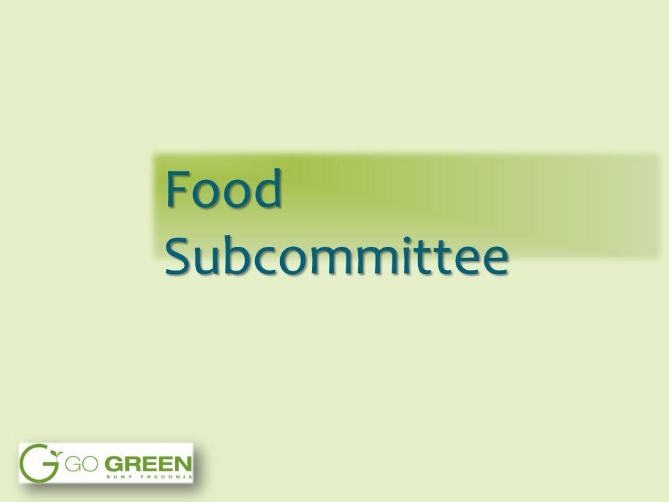 Food Subcommittee