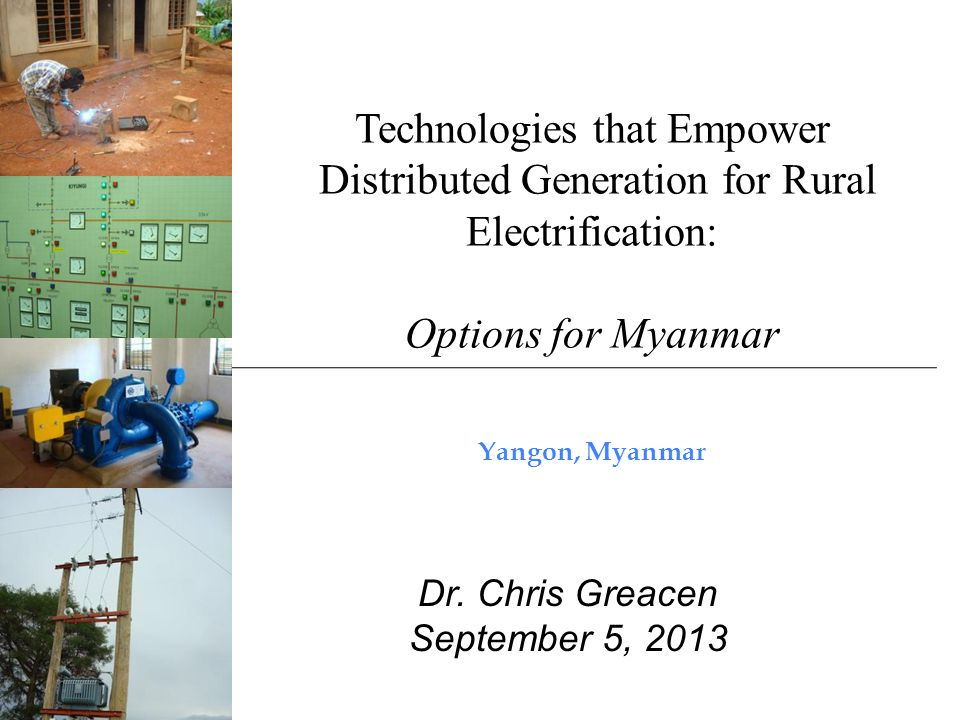 Outline Mini-grids and conventional grid extension –What happens when the grid arrives.