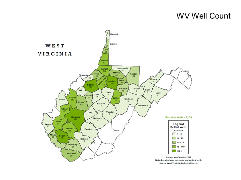WV Well Count