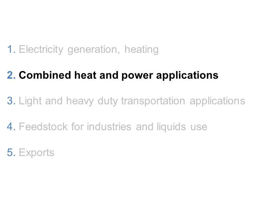 Clean, Abundant, and Versatile 1. Electricity generation, heating 2.