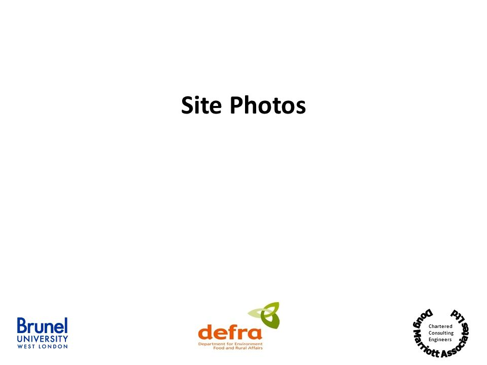 Chartered Consulting Engineers Site Photos