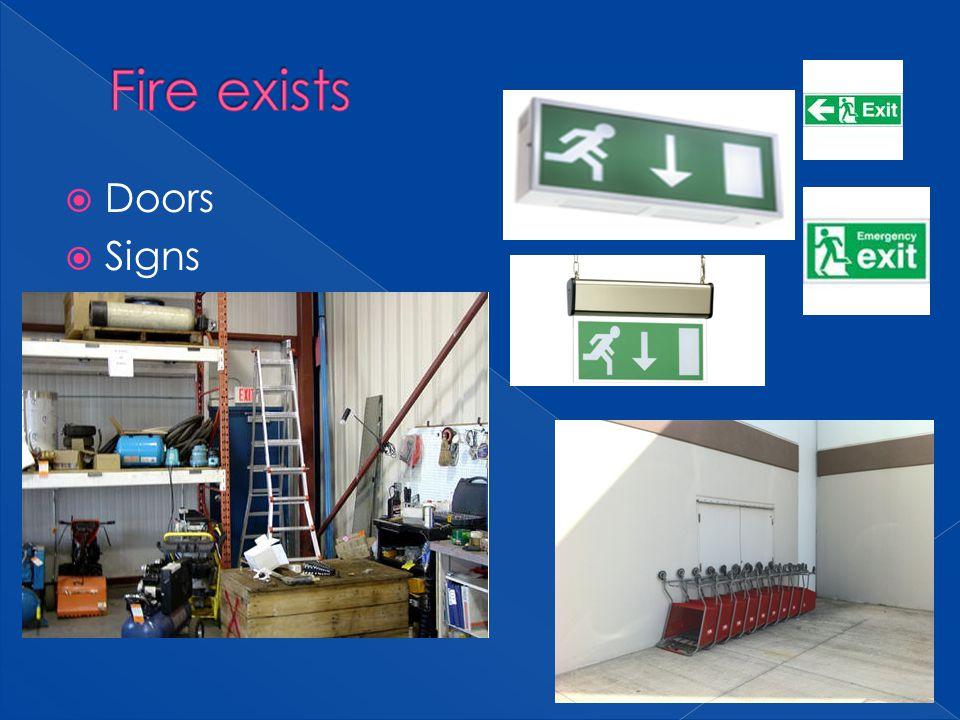 Doors Signs