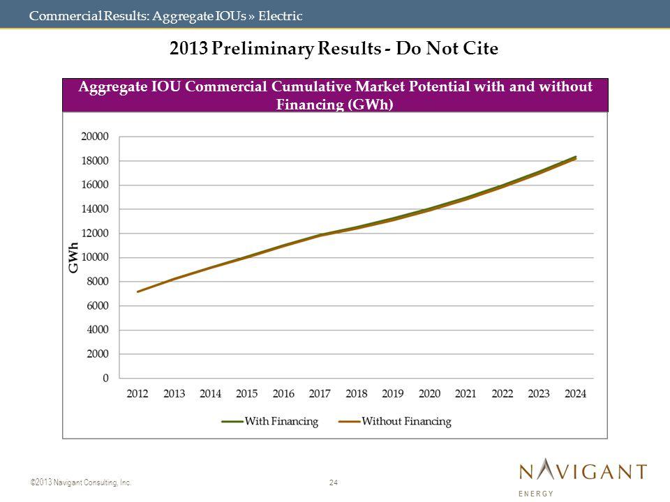 24 ©2013 Navigant Consulting, Inc.