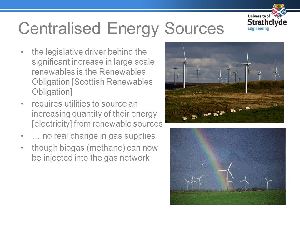 the legislative driver behind the significant increase in large scale renewables is the Renewables Obligation [Scottish Renewables Obligation] require
