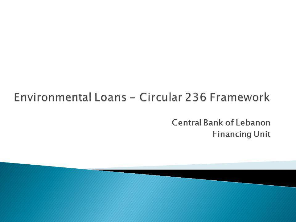 Central Bank of Lebanon Financing Unit