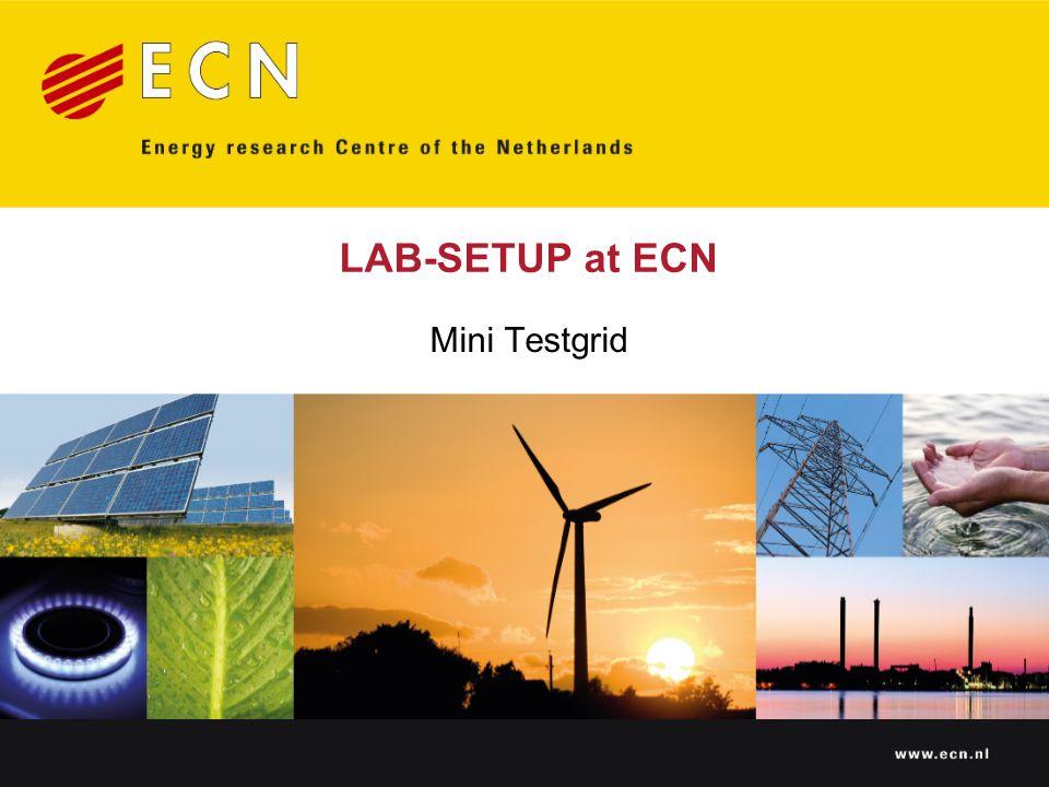 LAB-SETUP at ECN Mini Testgrid