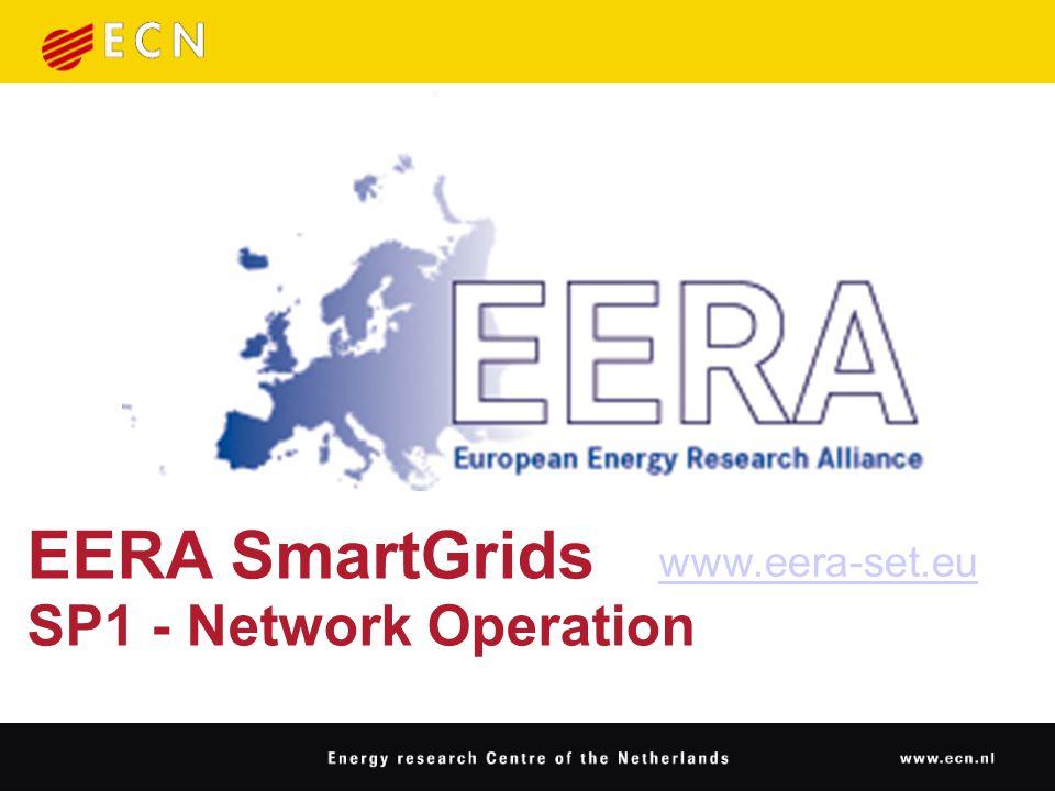 EERA SmartGrids SP1 - Network Operation www.eera-set.eu