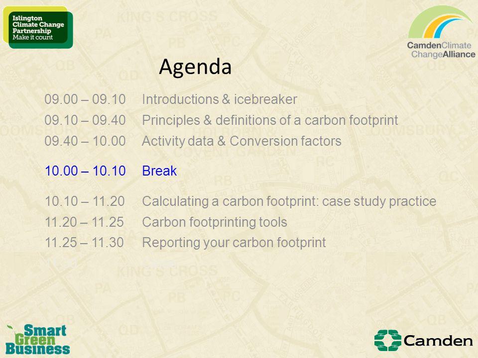 Carbon footprinting tools