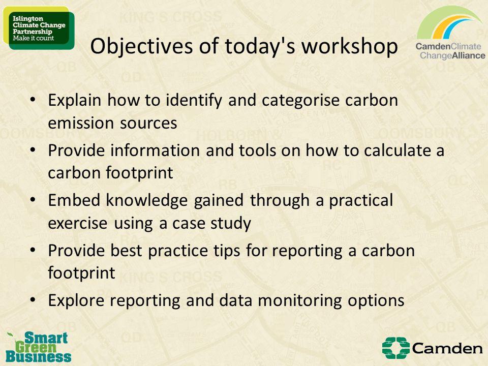 Activity data and conversion factors