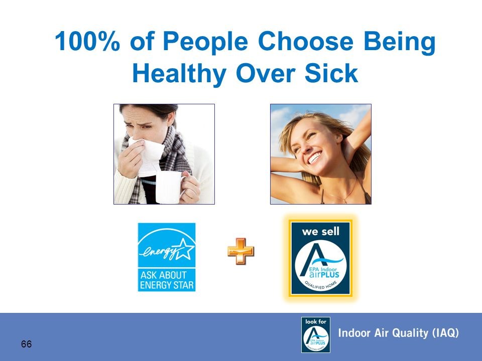 66 100% of People Choose Being Healthy Over Sick