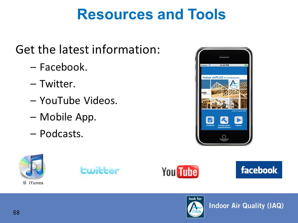 Get the latest information: –Facebook. –Twitter. –YouTube Videos.