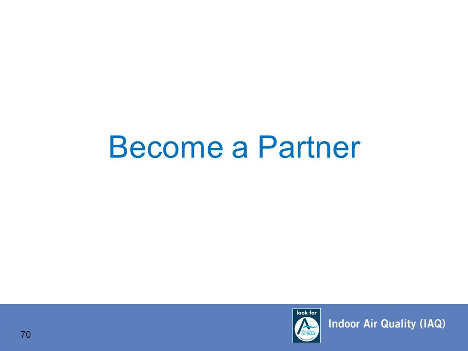 Become a Partner 70