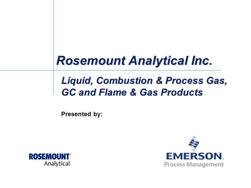 Rosemount Analytical Inc.