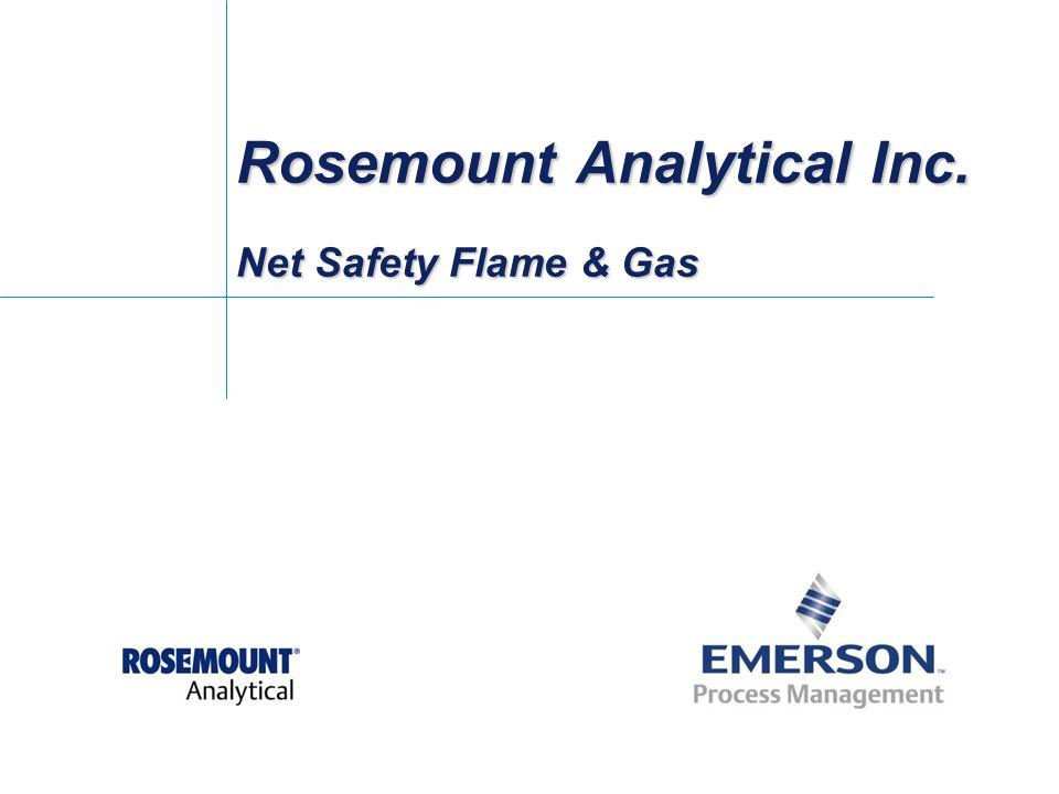 Rosemount Analytical Inc. Net Safety Flame & Gas