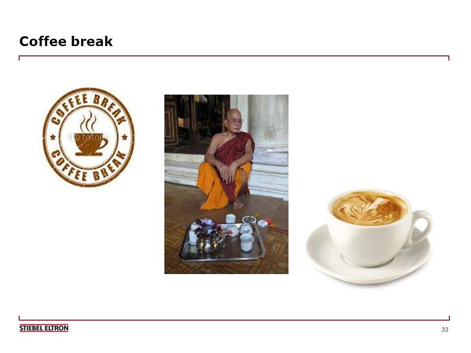 33 Coffee break