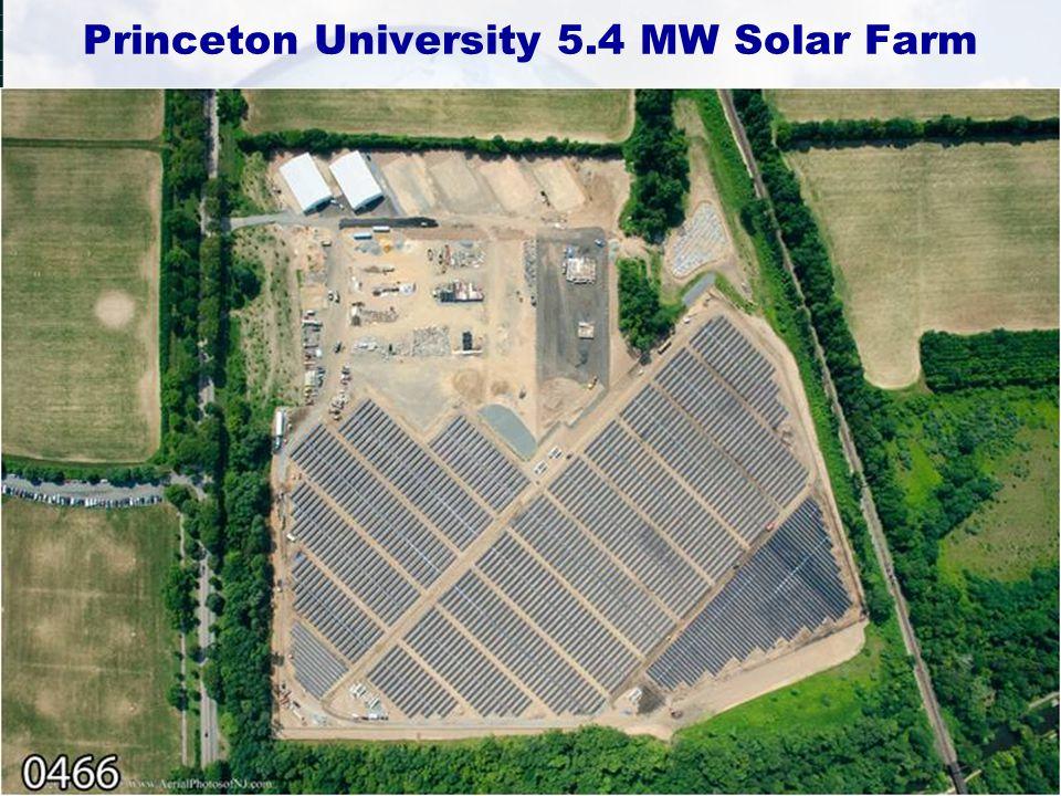 Princeton University 5.4 MW Solar Farm