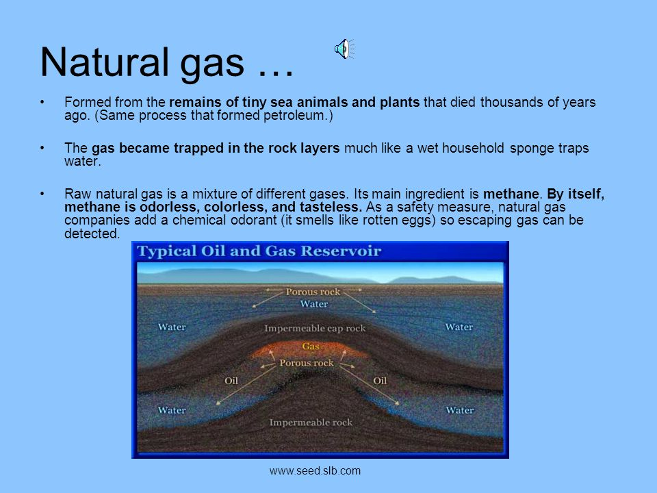 Natural Gas… A natural gas well www.flickr.comwww.flickr.com by: United States Government Work
