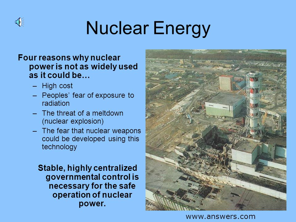 Nuclear Energy Nuclear energy produces wastes in the form of heat and spent (used) fuel – which can remain radioactive for thousands of years. Disposi