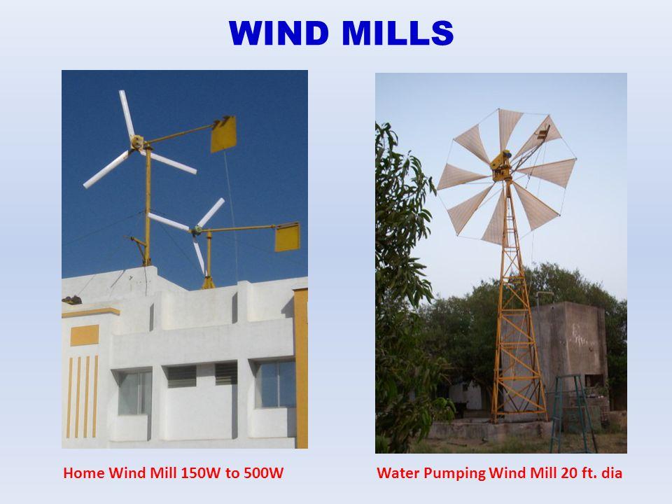 WIND MILLS Home Wind Mill 150W to 500WWater Pumping Wind Mill 20 ft. dia