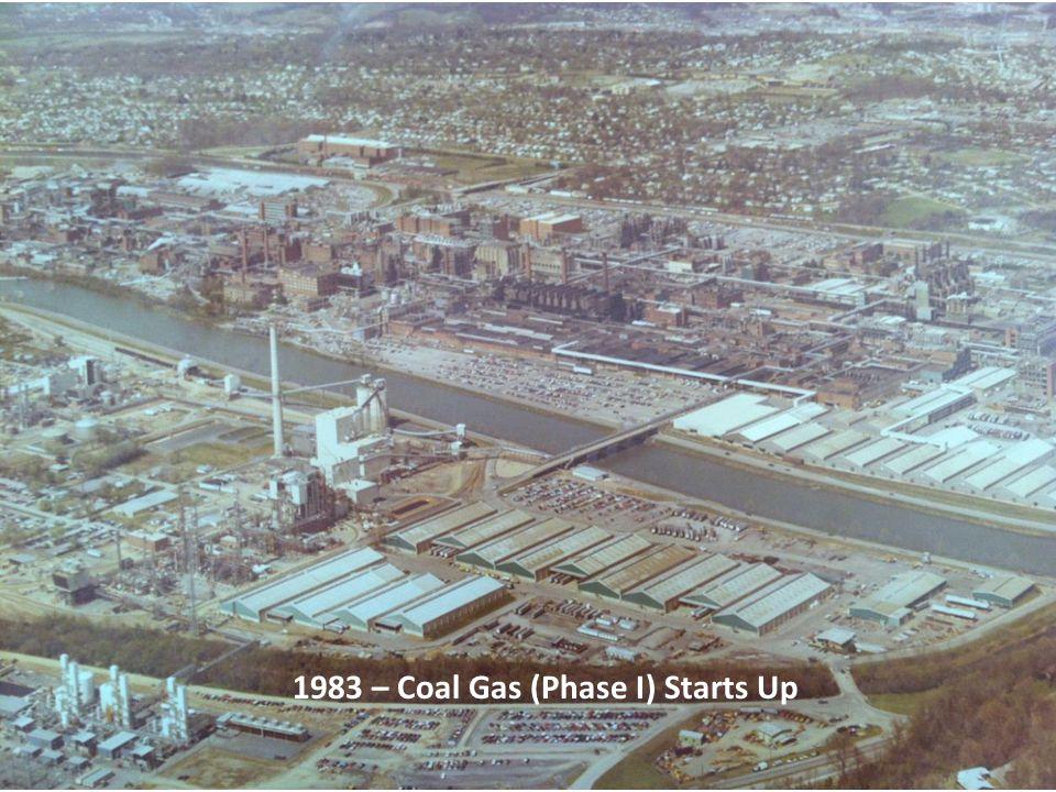 1983 – Coal Gas (Phase I) Starts Up