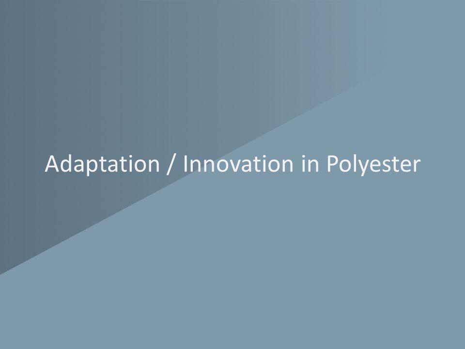 Adaptation / Innovation in Polyester