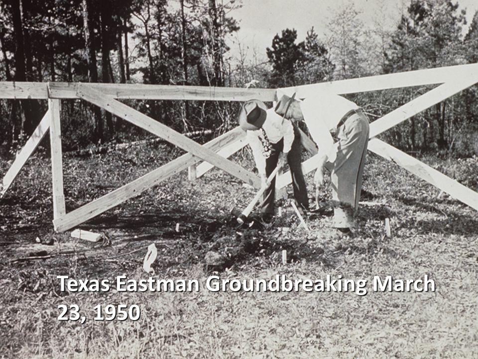 Texas Eastman Groundbreaking March 23, 1950