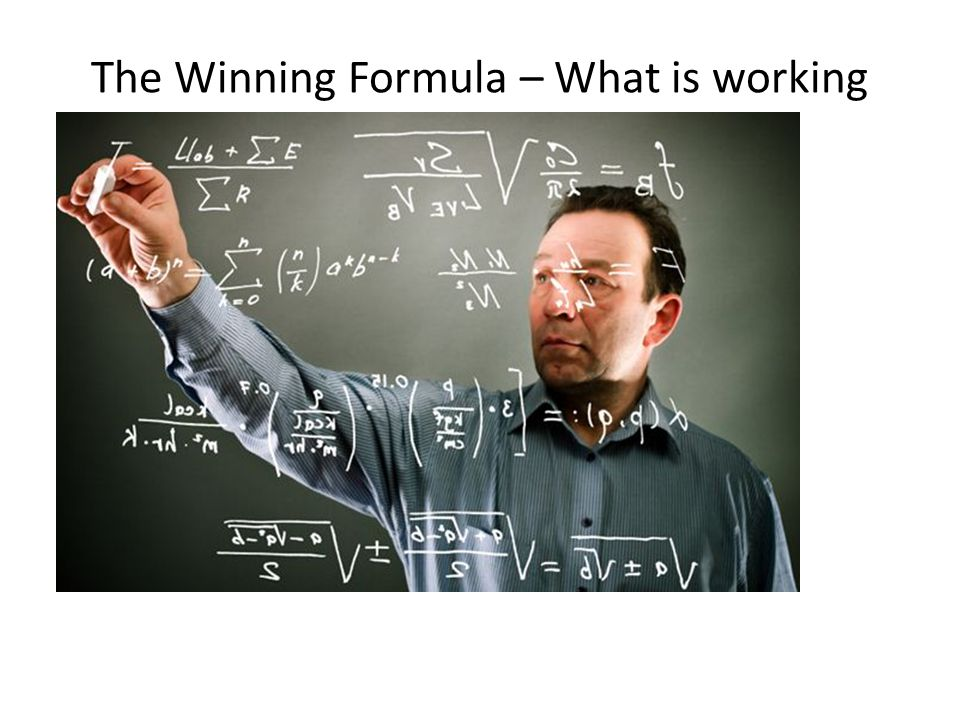 The Winning Formula – What is working Expanding the core – Build on strengths – Chemistry – Chemical engineering – Operational excellence Acquiring Mo