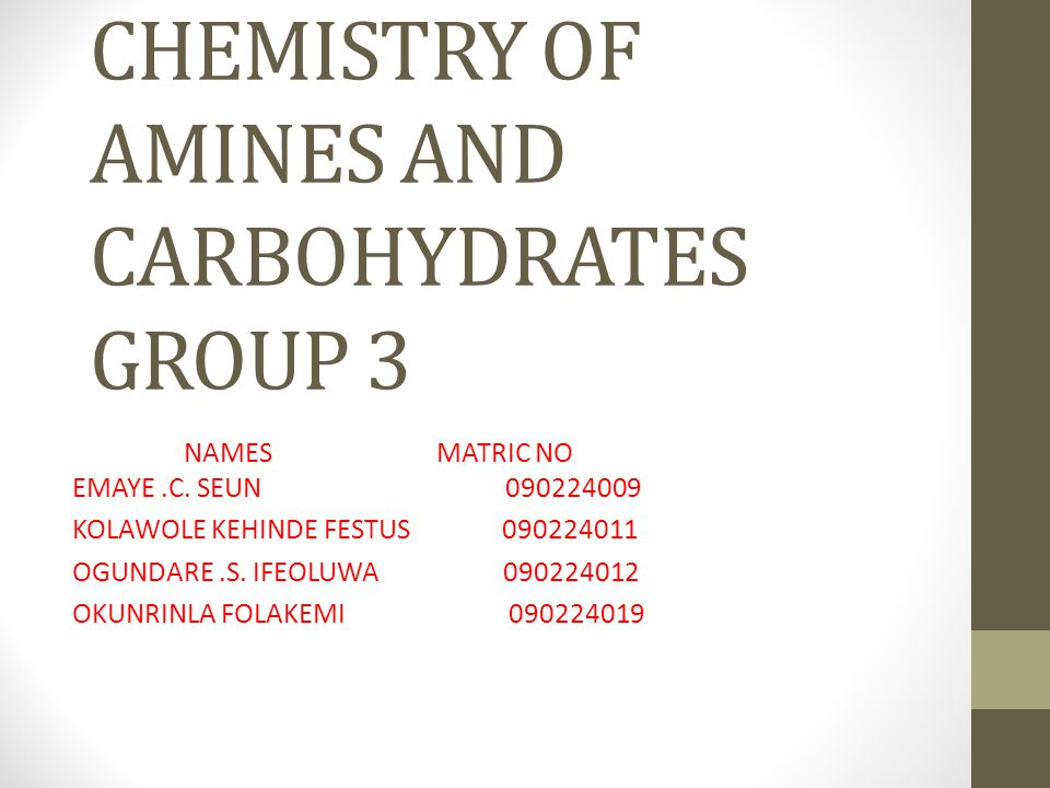 CARBOHYDRATE Carbohydrate are a family of compounds containing carbon, hydrogen and oxygen only which are its major element.