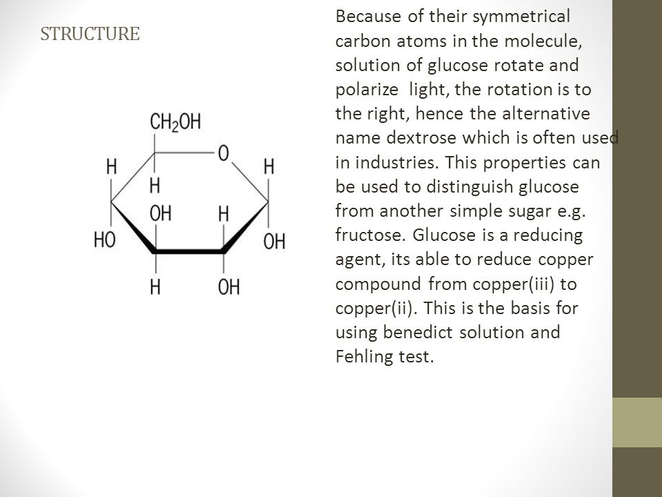 2.FRUCTOSE fructose is another simple sugar, present in honey and a few plants.