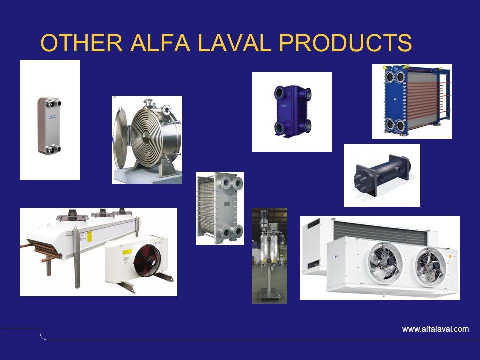www.alfalaval.com © Alfa Laval Slide 35 OTHER ALFA LAVAL PRODUCTS