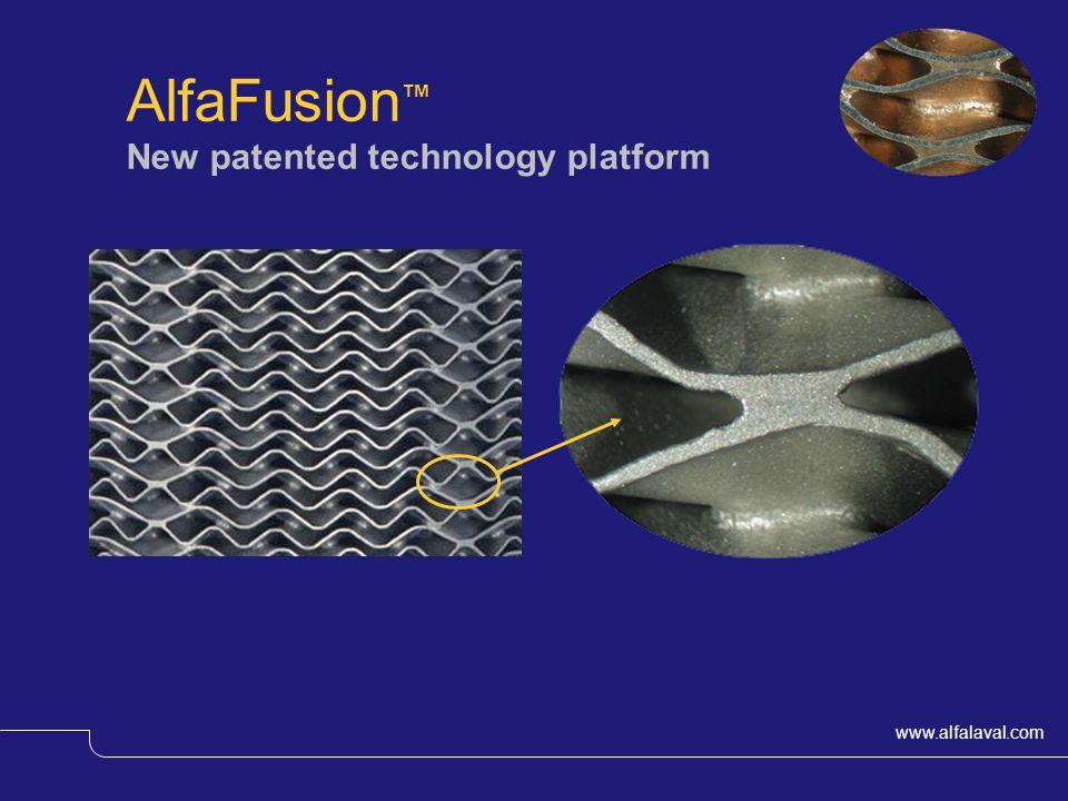 www.alfalaval.com © Alfa LavalSlide 40 AlfaFusion New patented technology platform