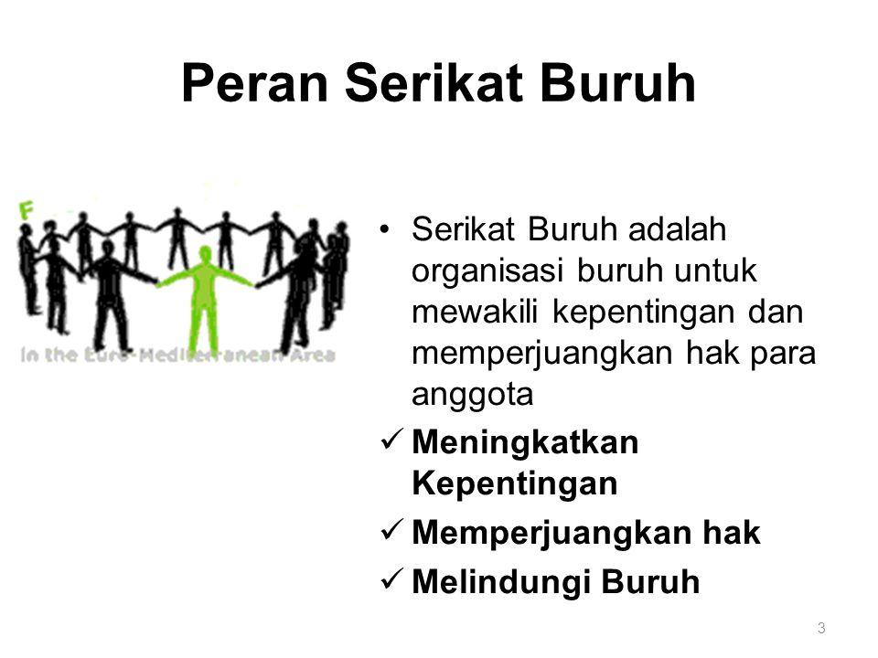 Kesimpulan a.Perundingan bersama adalah negosiasi antara serikat buruh dan perusahaan untuk bersama-sama memutuskan upah dan kondisi kerja yang mempengaruhi kehidupan buruh dan kelangsungan keluarganya.