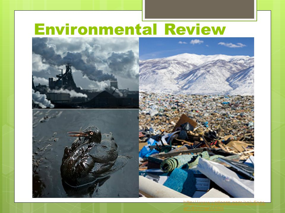 Environmental Review http://www.usstcorp.com/solutions- environment.html