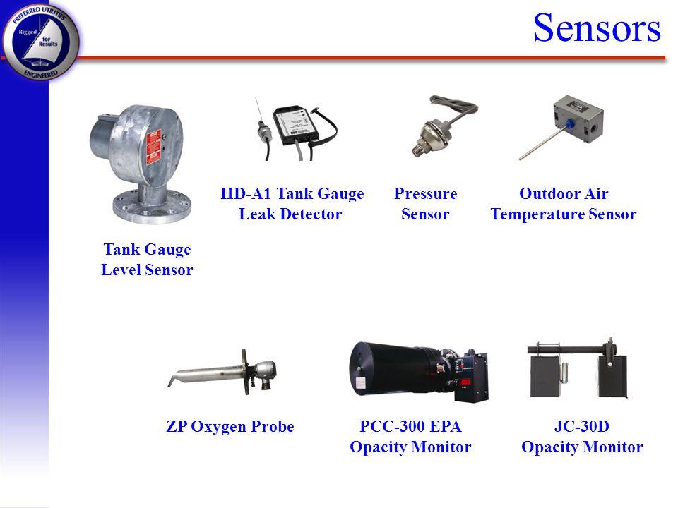 Sensors Tank Gauge Level Sensor HD-A1 Tank Gauge Leak Detector Pressure Sensor Outdoor Air Temperature Sensor ZP Oxygen ProbePCC-300 EPA Opacity Monit