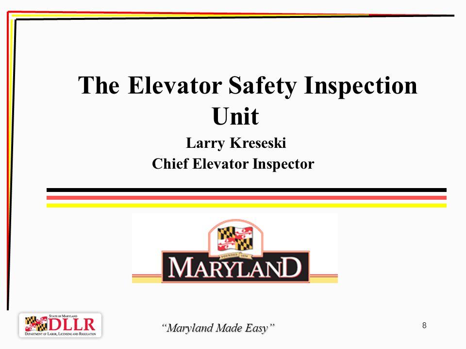 Maryland Made Easy 29 Board of Boiler Rules Ashwani K.