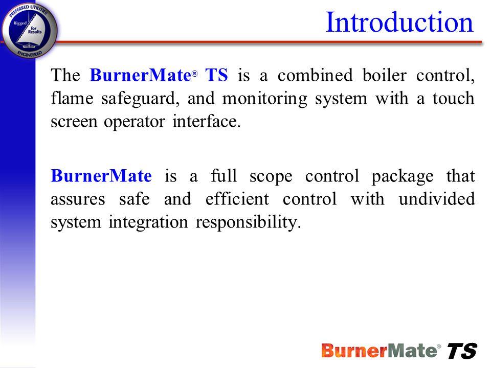 TS BurnerMate TS Control Strategies