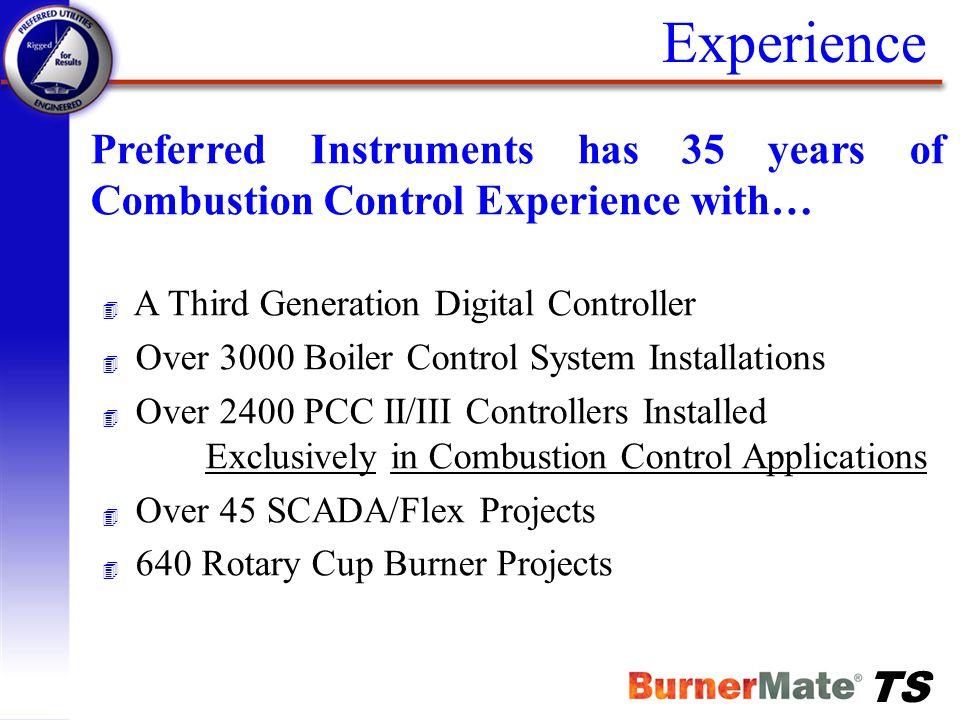 TS BurnerMate TS SCADA System Integration