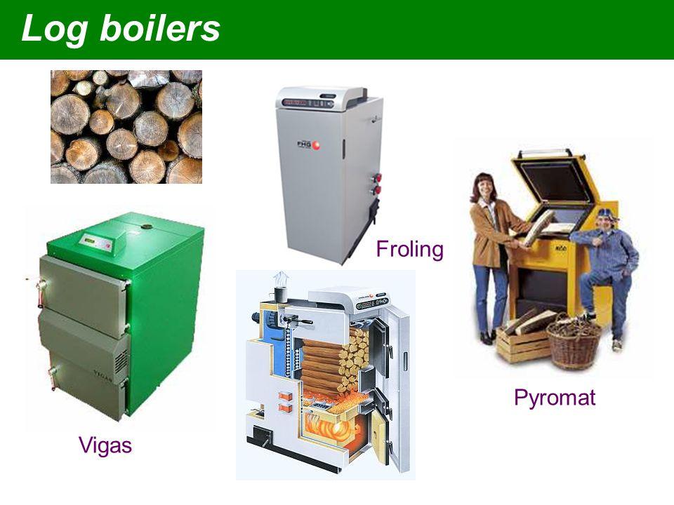 Vigas Froling Pyromat Log boilers