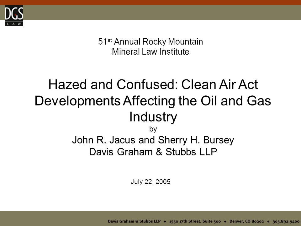 X.A New Oil & Gas Initiative.