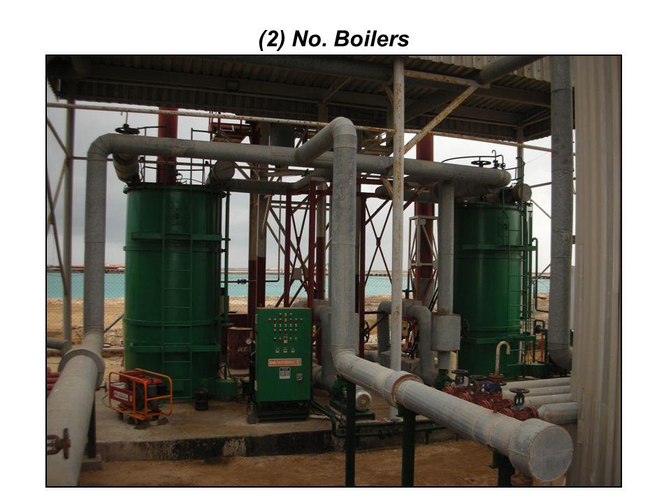 (2) No. Boilers