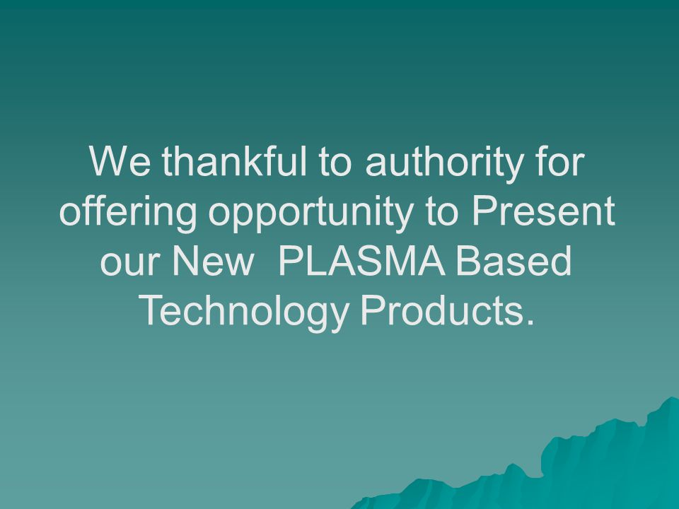 HNO3 Manufacturing Plant based on Plasma Technology in Details