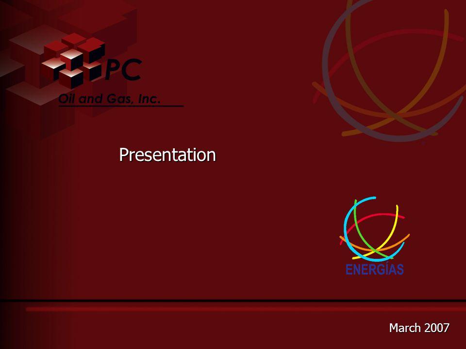 Presentation March 2007